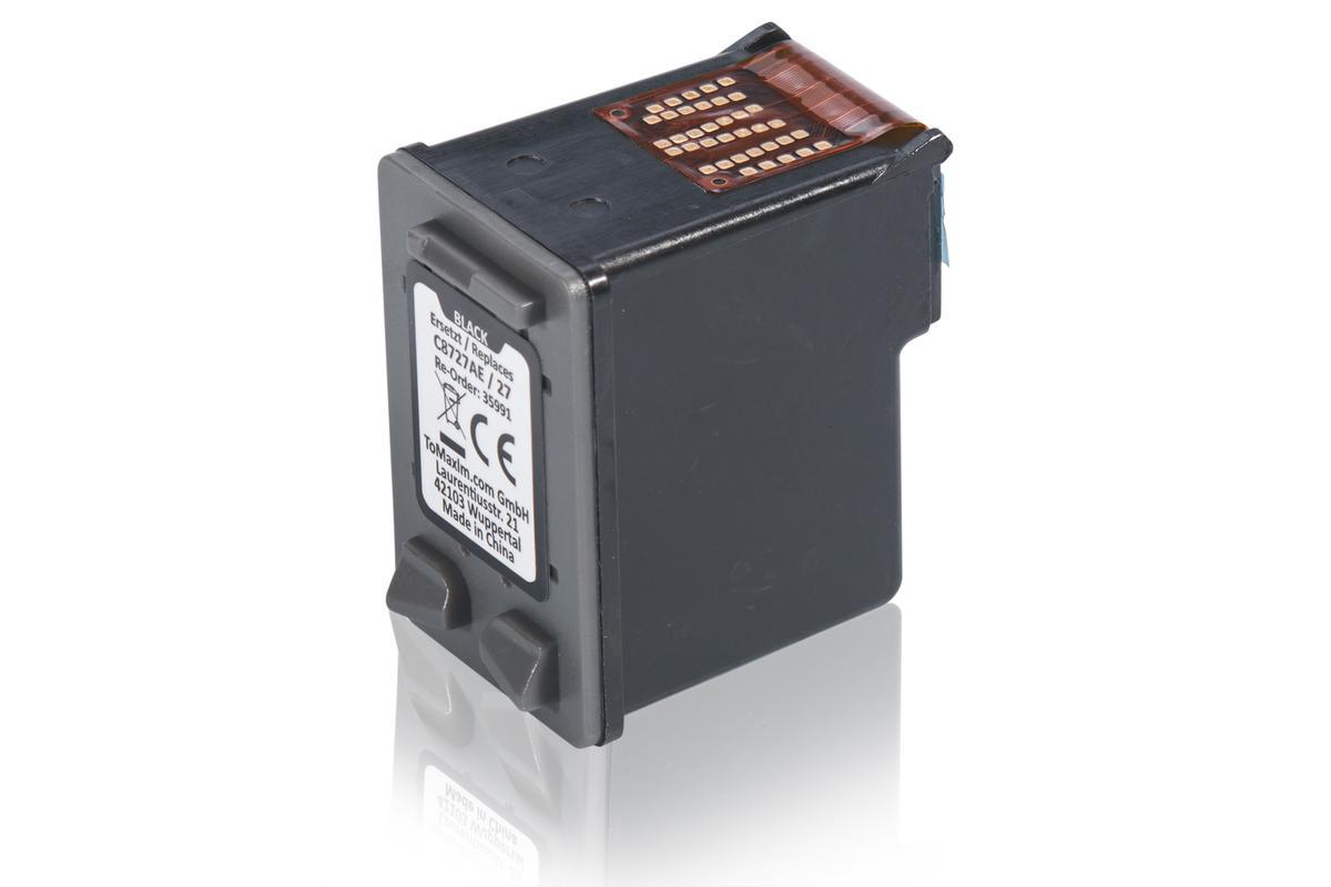 Kompatibel zu HP C8727AE / 27 XL Druckkopfpatrone, schwarz