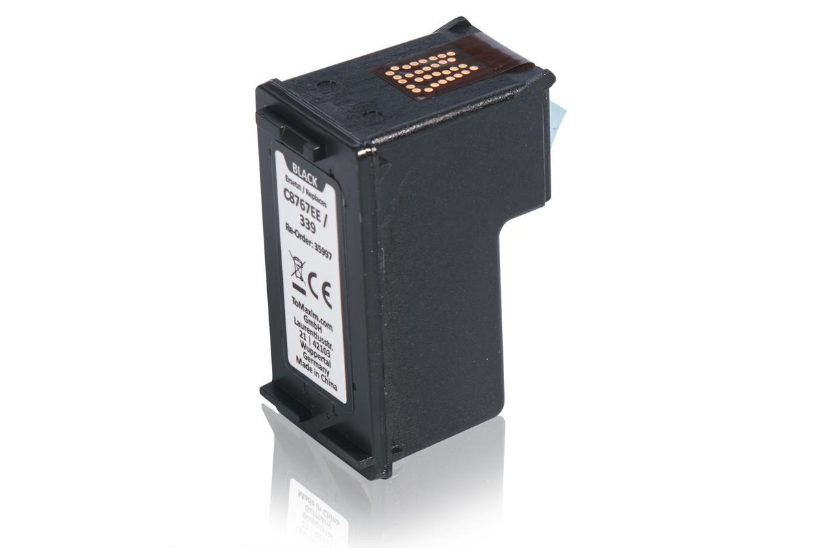Kompatibel zu HP C8767EE / 339 Druckkopfpatrone, schwarz