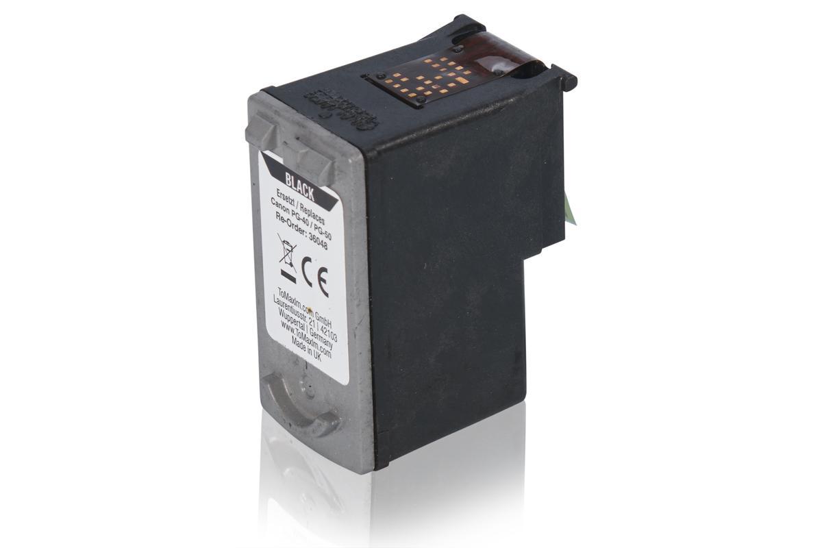 Kompatibel zu Canon 0615B001 / PG-40 Tintenpatrone, schwarz