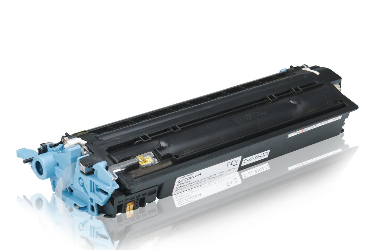 Kompatibel zu HP Q6002A / 124A Tonerkartusche, gelb