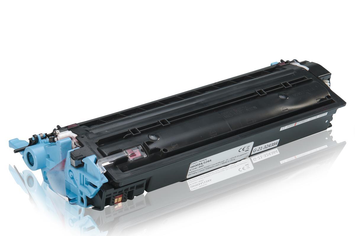 Kompatibel zu HP Q6003A / 124A Tonerkartusche, magenta