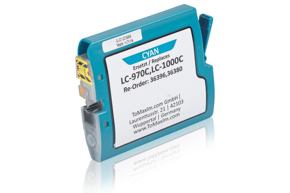 Kompatibel zu Brother LC-970C Tintenpatrone, cyan
