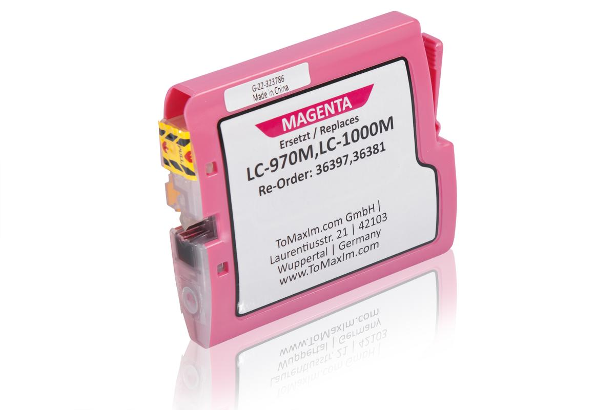 Kompatibel zu Brother LC-970M Tintenpatrone, magenta