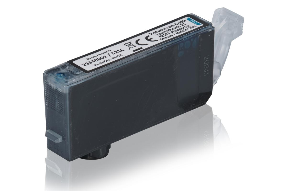 Kompatibel zu Canon 2934B001 / CLI-521C Tintenpatrone, cyan