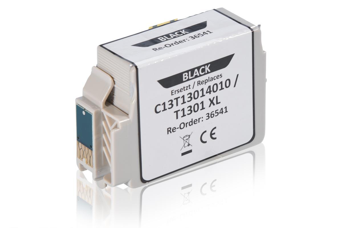 Alternative à Epson C13T13014010 / T1301 Cartouche d'encre, noir