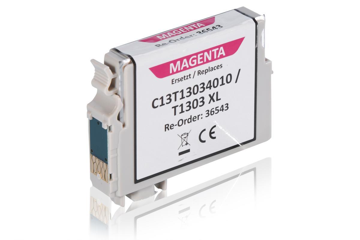 Kompatibel zu Epson C13T13034010 / T1303 Tintenpatrone, magenta