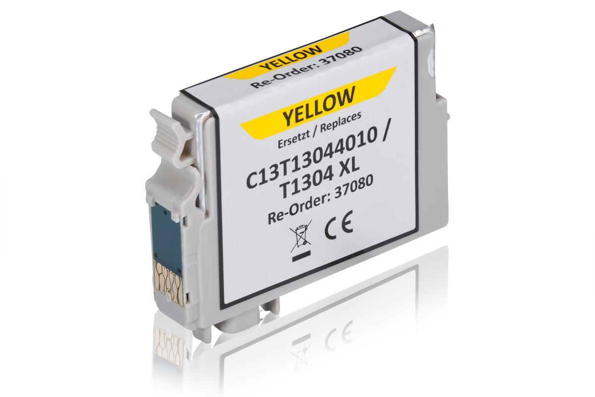 Kompatibel zu Epson C13T13044010 / T1304 Tintenpatrone, gelb