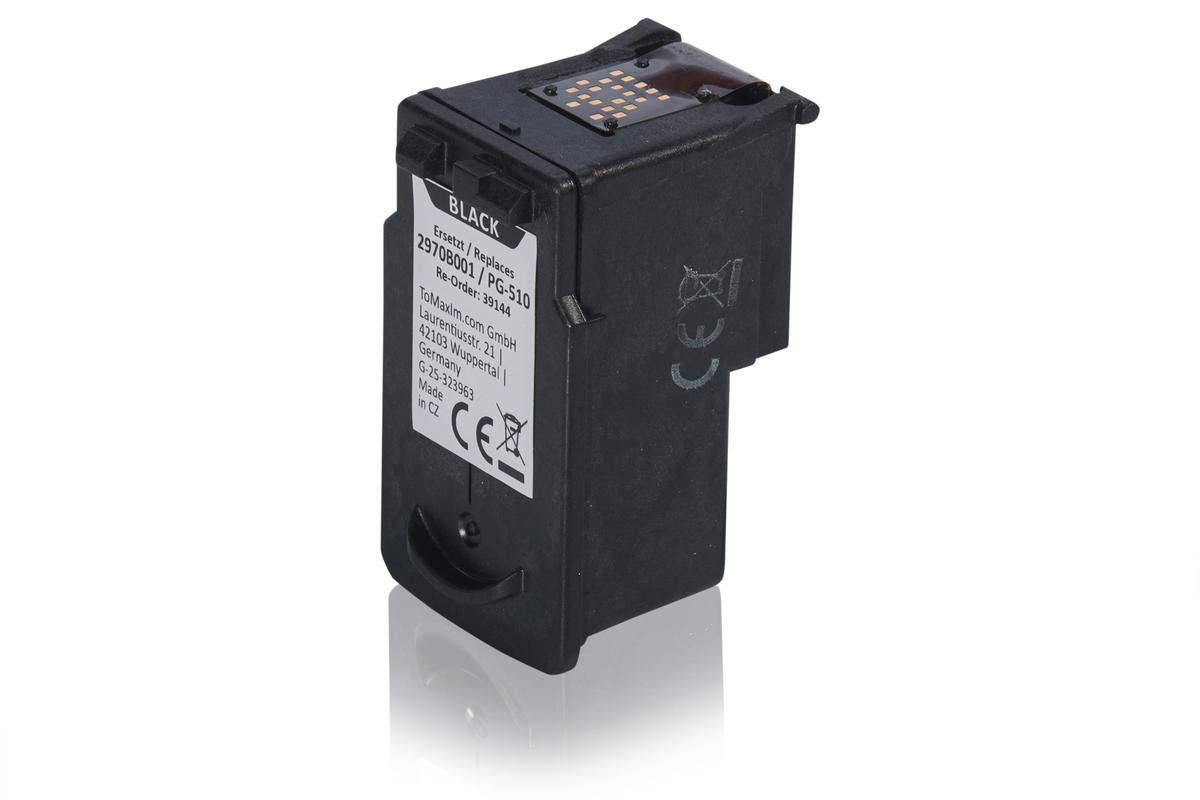 Kompatibel zu Canon 2970B001 / PG-510 Druckkopfpatrone, schwarz