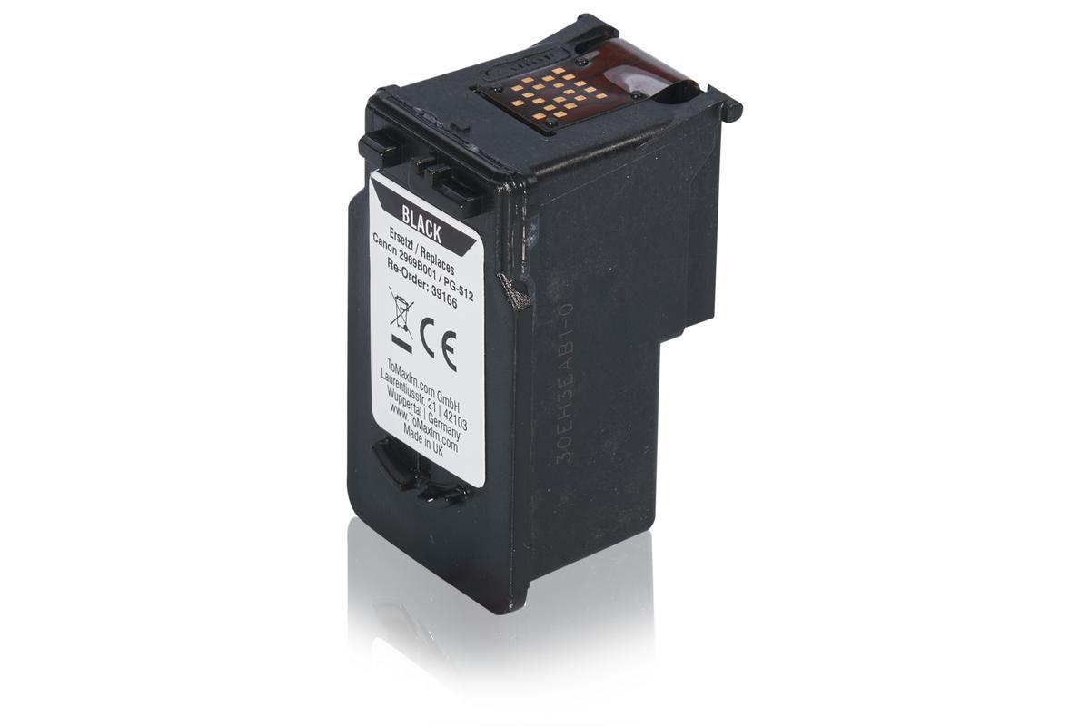 Kompatibel zu Canon 2969B001 / PG-512 Druckkopfpatrone, schwarz