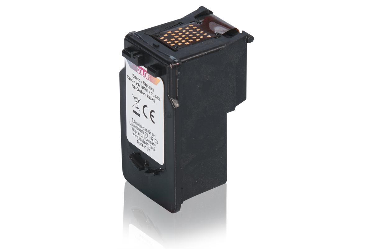 Kompatibel zu Canon 2971B001 / CL-513 Druckkopfpatrone, color
