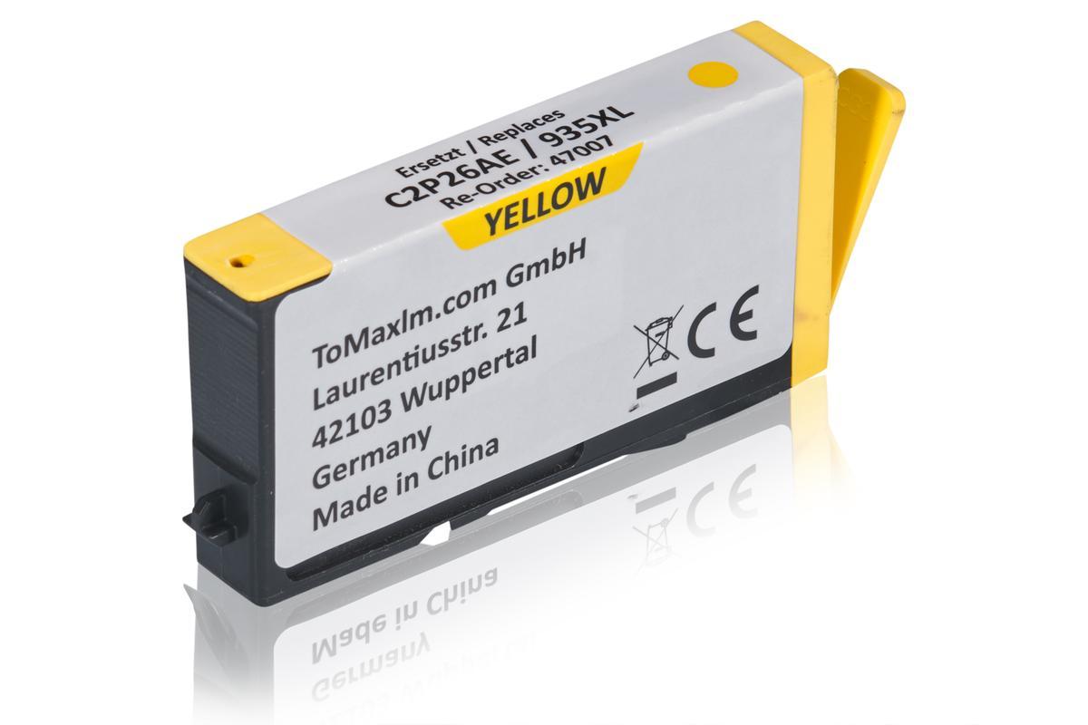 Kompatibel zu HP C2P26AE / 935XL Tintenpatrone, gelb