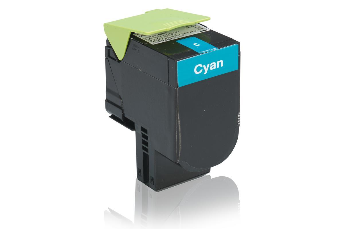 Kompatibel zu Lexmark 80C2SC0 / 802SC Tonerkartusche, cyan