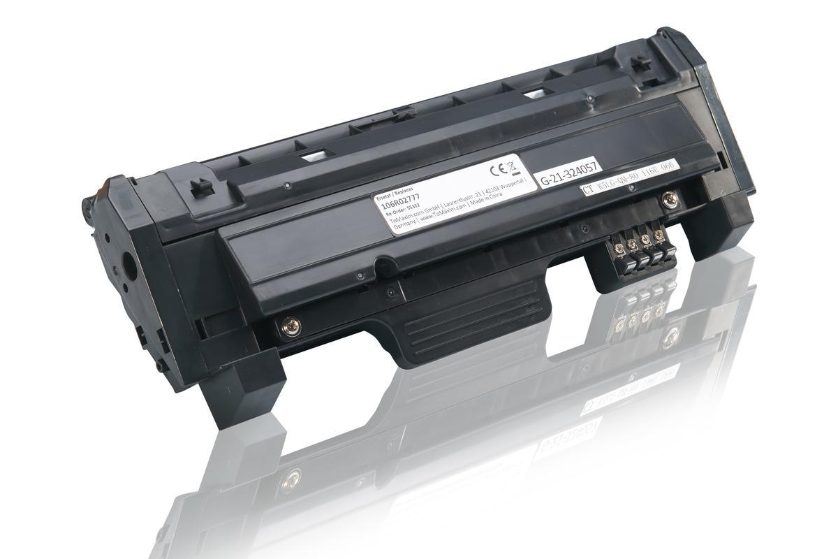 Kompatibel zu Xerox 106R02777 Tonerkartusche, schwarz