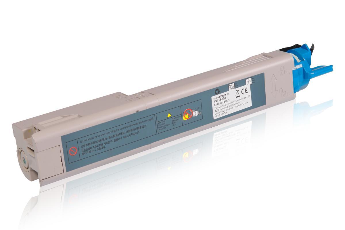 Kompatibel zu OKI 43459331 / C3300 Tonerkartusche, cyan