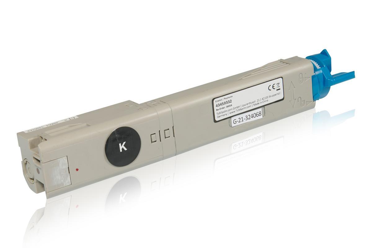 Kompatibel zu OKI 43459332 / C3300 Tonerkartusche, schwarz