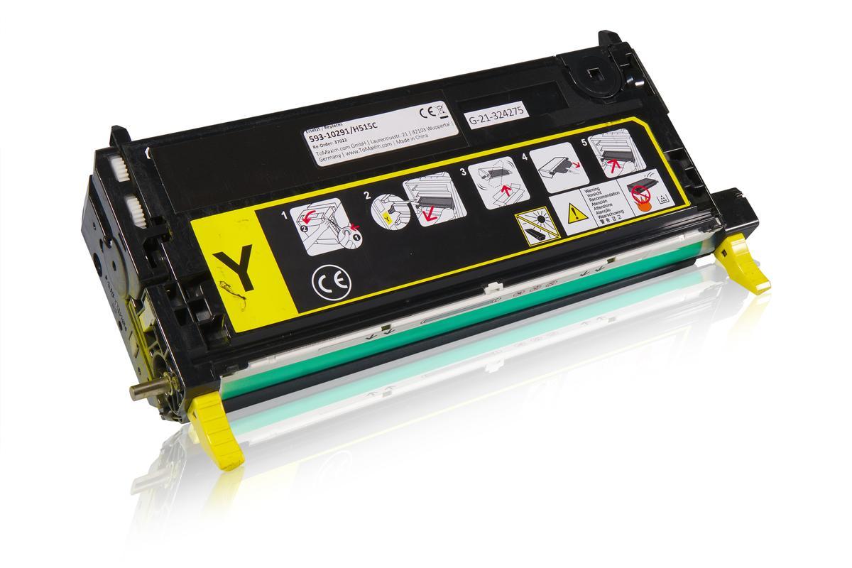 Huismerk voor Dell 593-10291 / H515C Tonercartridge, geel