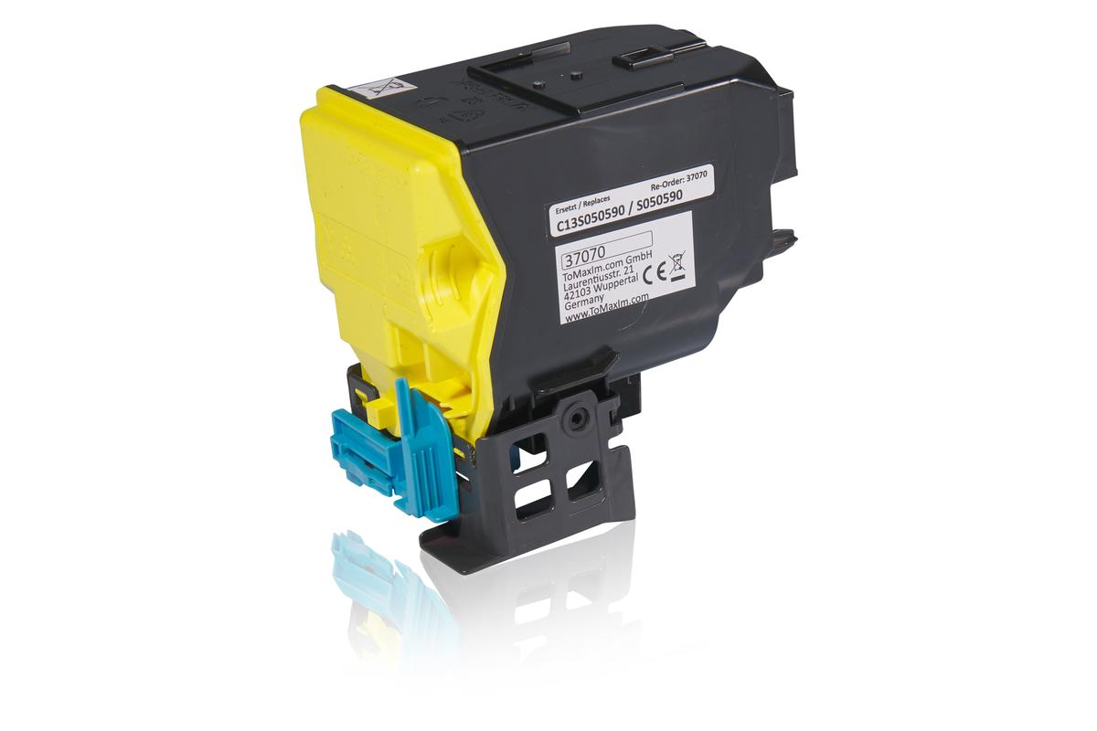 Kompatibel zu Epson C13S050590 / S050590 Tonerkartusche, gelb