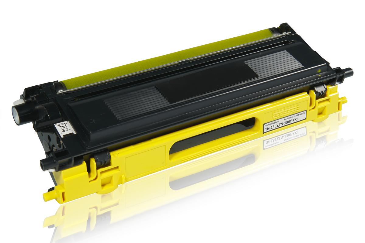 Kompatibel zu Brother TN-135Y Tonerkartusche, gelb
