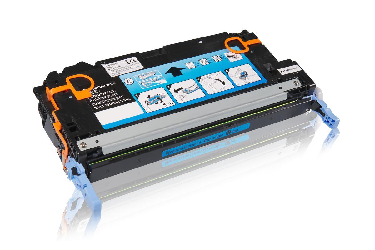 Kompatibel zu HP Q7581A / 503A Tonerkartusche, cyan