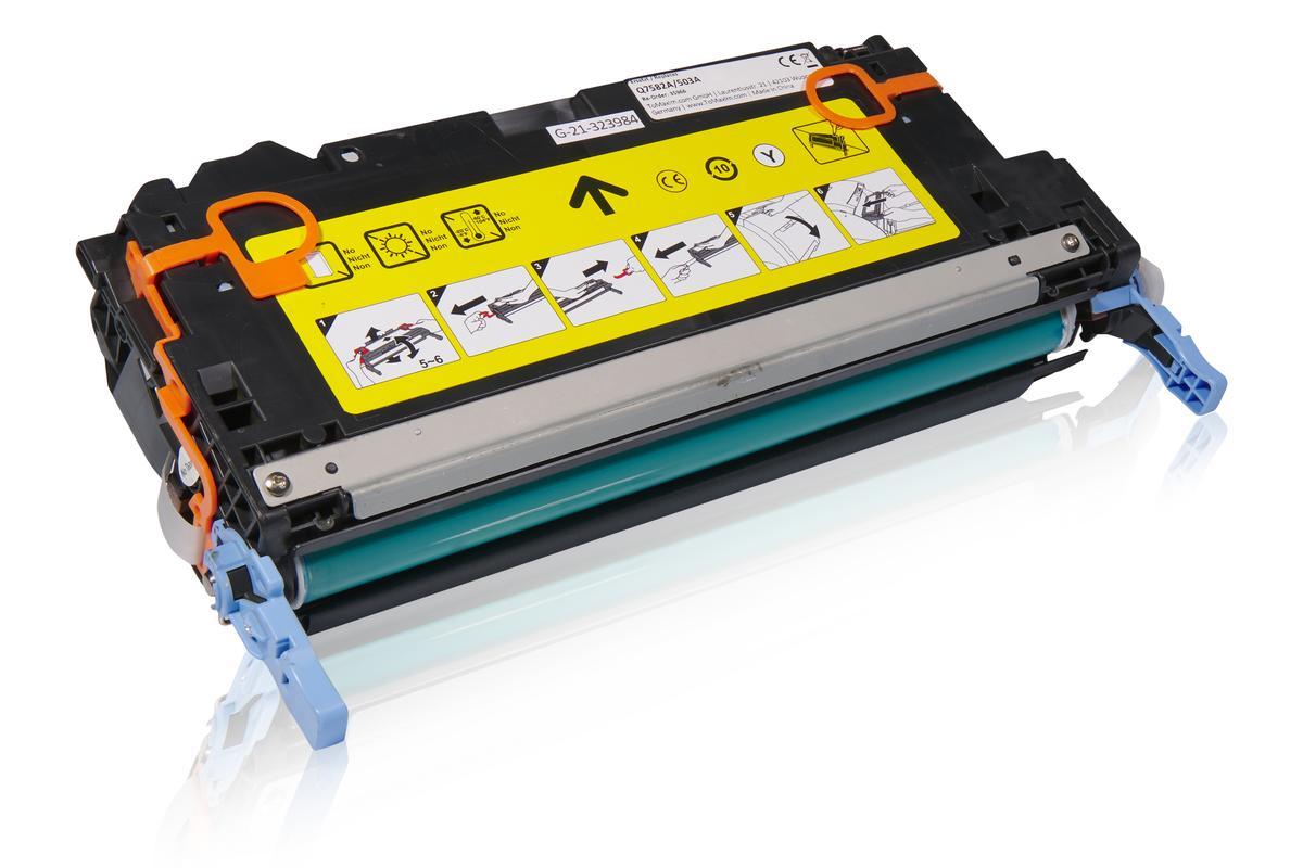 Kompatibel zu HP Q7582A / 503A Tonerkartusche, gelb