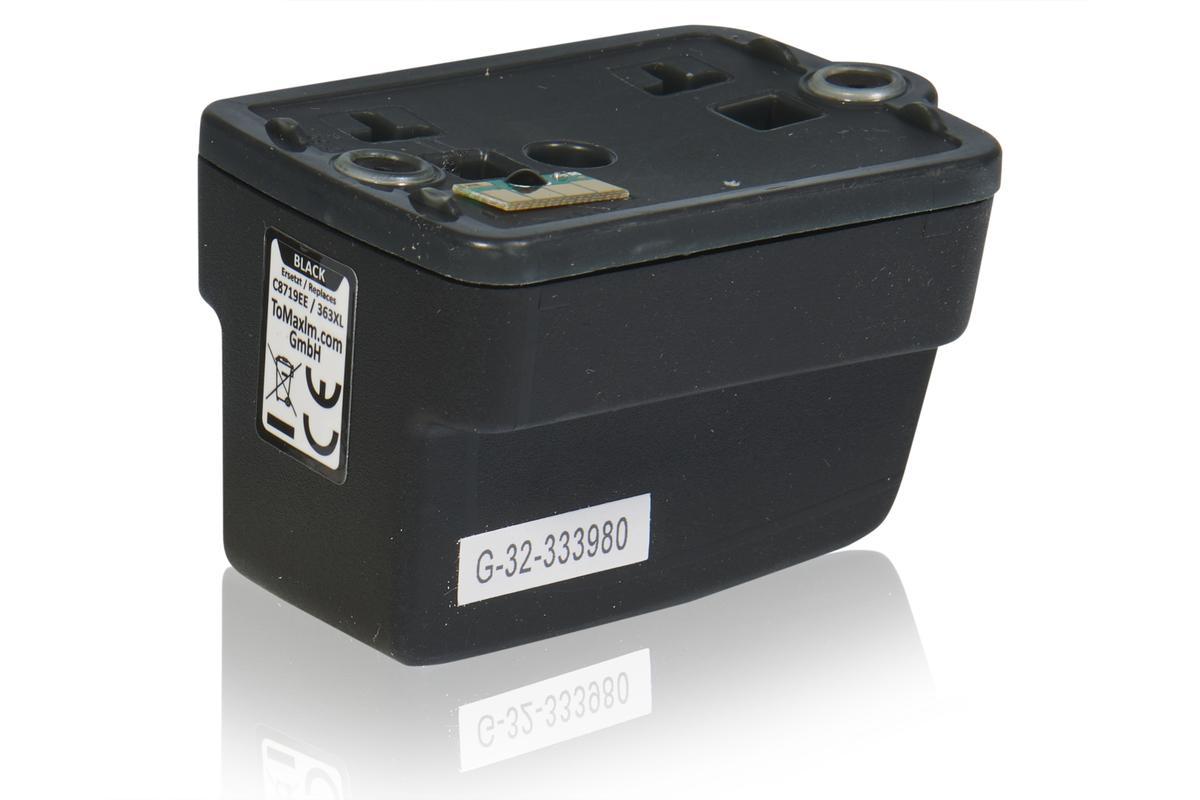 Kompatibel zu HP C8719EE / 363XL Tintenpatrone, schwarz