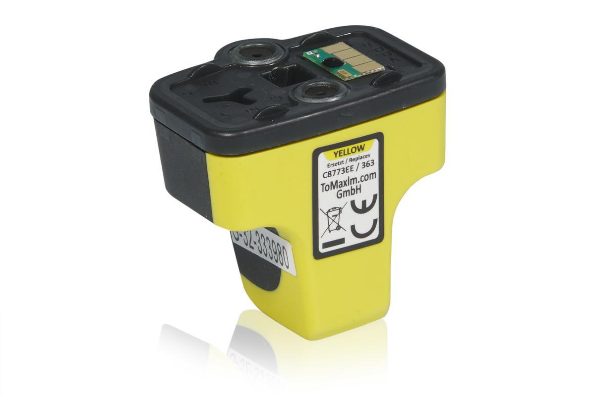 Kompatibel zu HP C8773EE / 363 Tintenpatrone, gelb