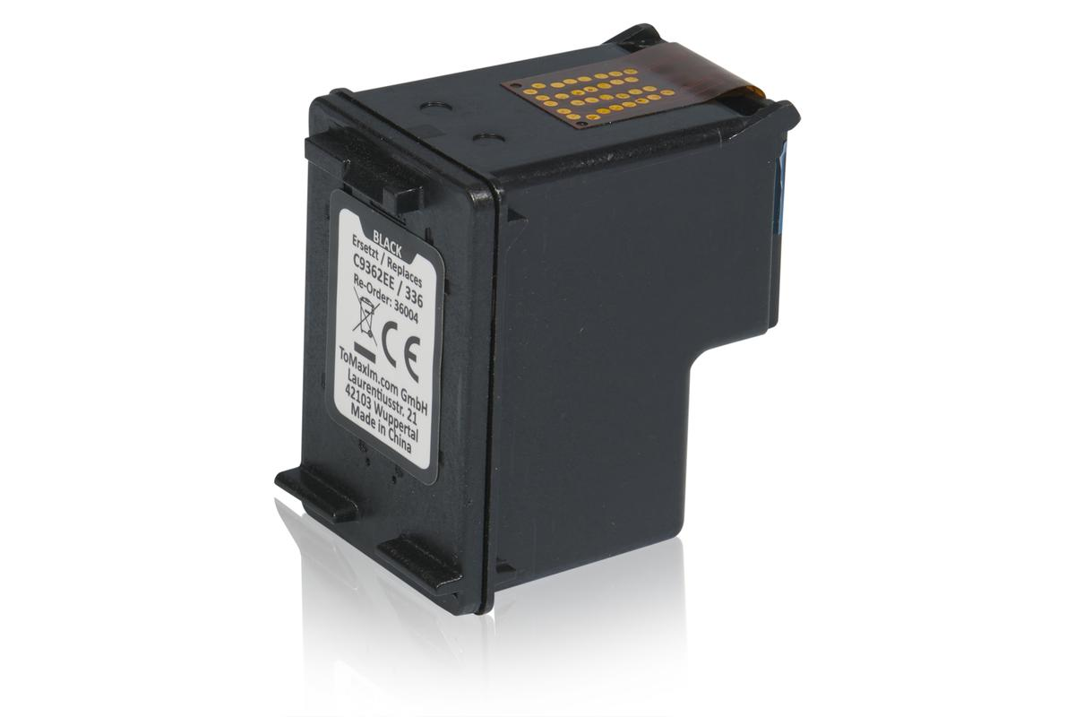 Kompatibel zu HP C9362EE / 336 Druckkopfpatrone, schwarz