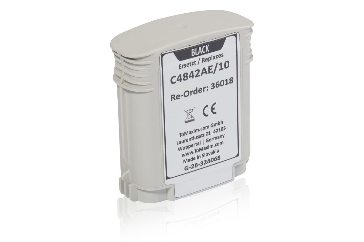 Kompatibel zu HP C4842AE / 10 Tintenpatrone, gelb