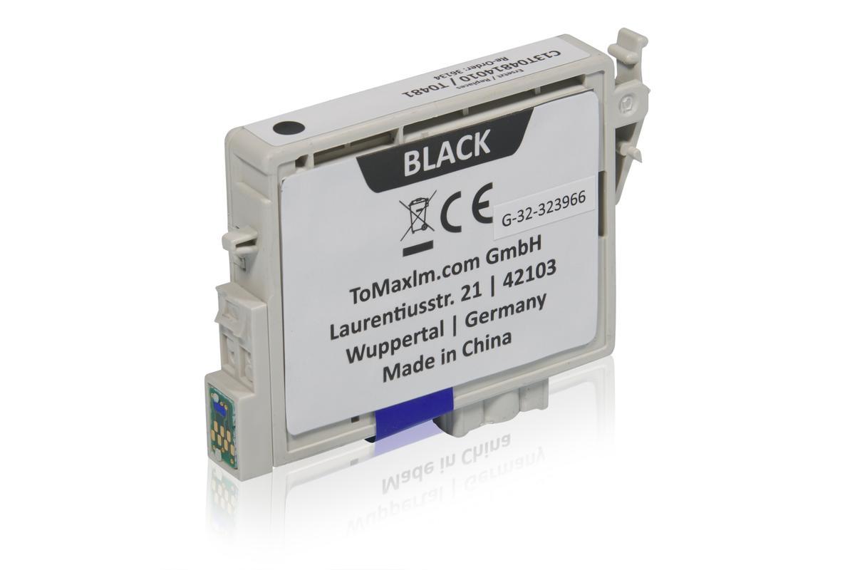 Kompatibel zu Epson C13T04814010 / T0481 Tintenpatrone, schwarz