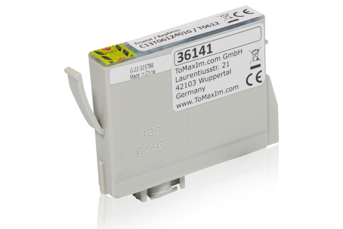 Alternative à Epson C13T06124010 / T0612 XL Cartouche d'encre, cyan