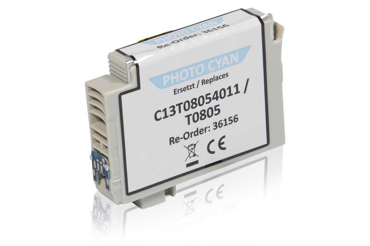 Kompatibel zu Epson C13T08054011 / T0805 Tintenpatrone, light cyan