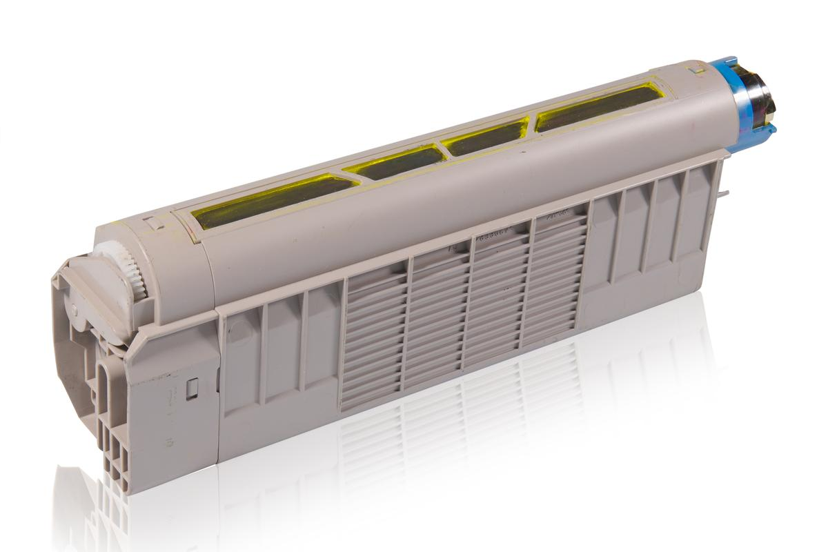 Kompatibel zu OKI 43865721 / C5850 / C5950 Tonerkartusche, gelb