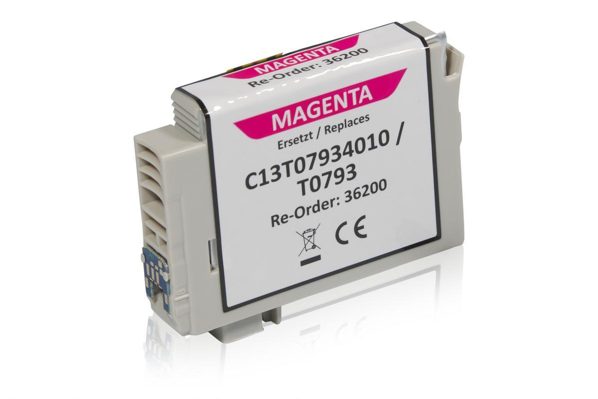 Kompatibel zu Epson C13T07934010 / T0793 Tintenpatrone, magenta