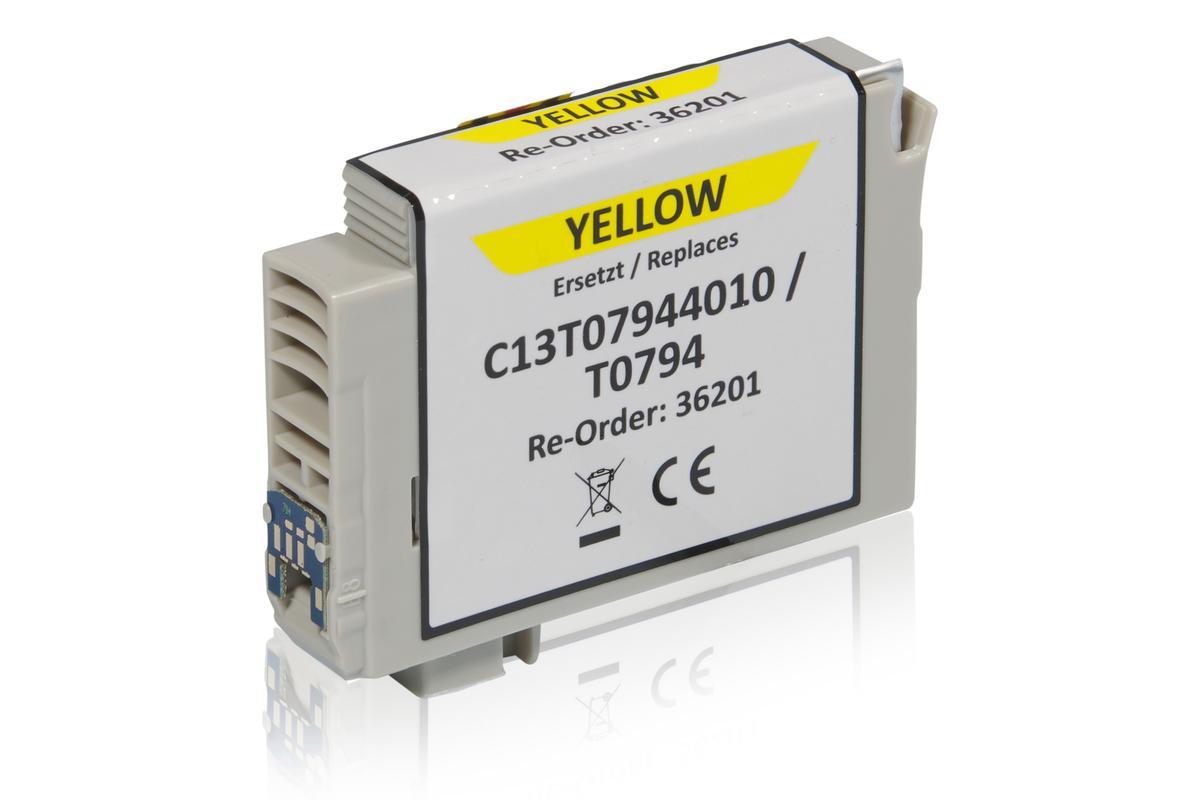 Kompatibel zu Epson C13T07944010 / T0794 Tintenpatrone, gelb