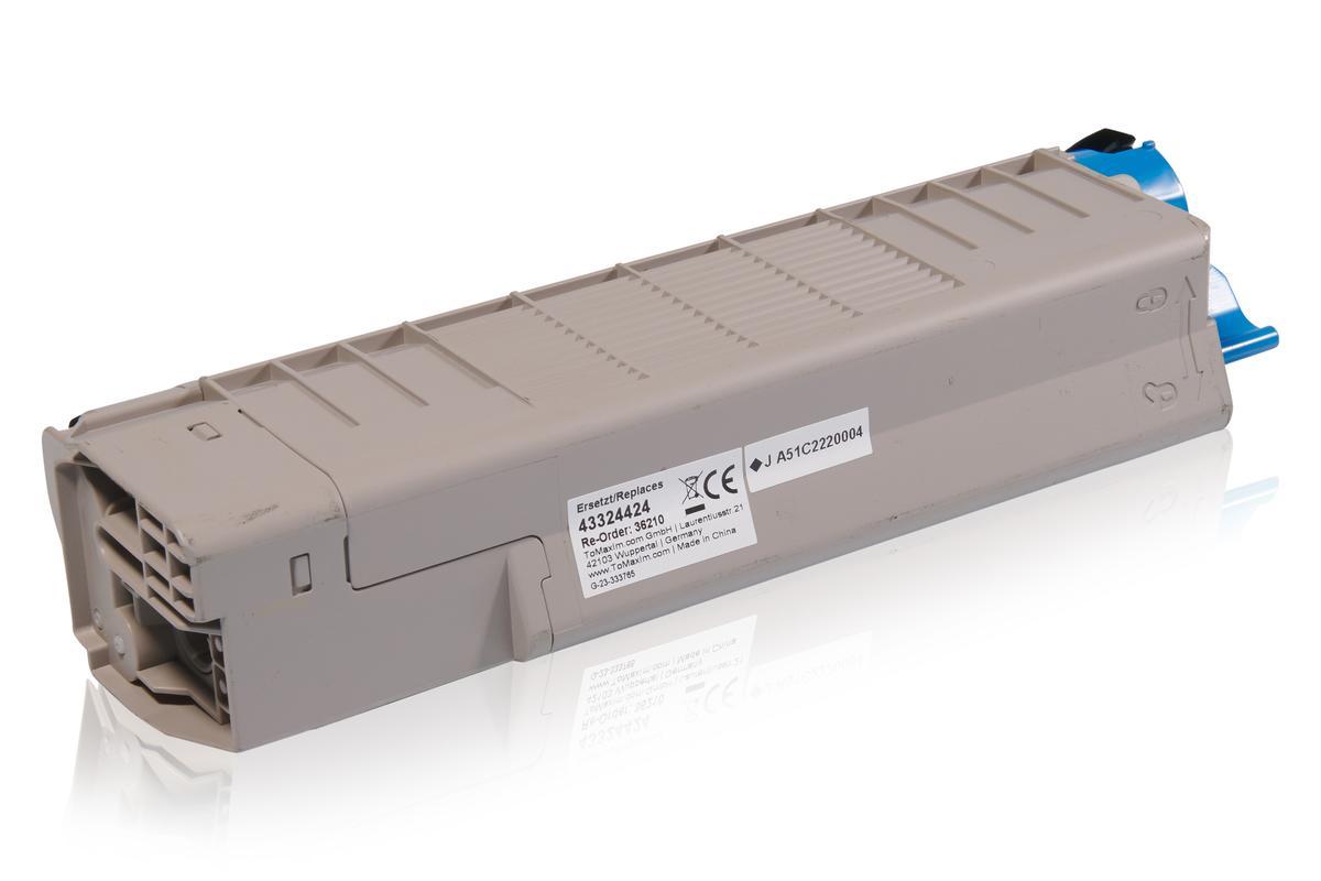 Kompatibel zu OKI 43324424 / C5800 Tonerkartusche, schwarz