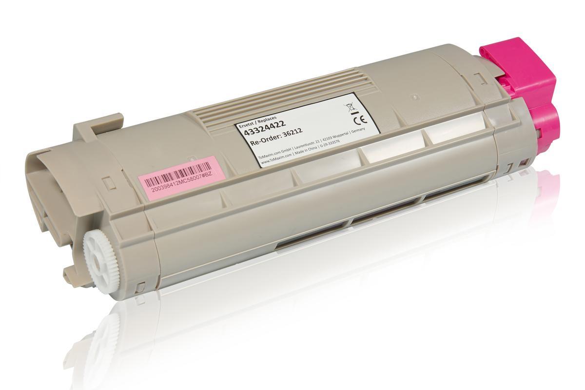 Kompatibel zu OKI 43324422 / C5800 Tonerkartusche, magenta