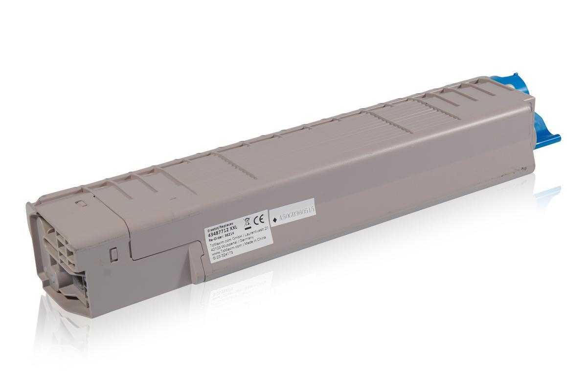 Kompatibel zu OKI 43487712 / C8600 Tonerkartusche, schwarz