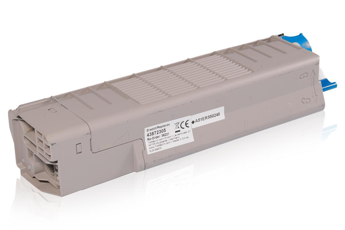 Kompatibel zu OKI 43872305 / C5650 / C5750 Tonerkartusche, gelb