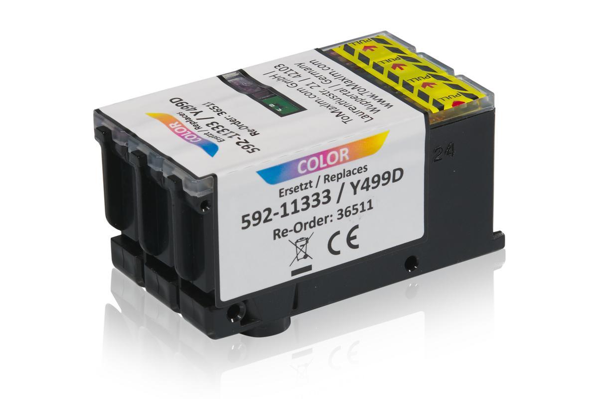 Kompatibel zu Dell 592-11333 / Y499D XL Tintenpatrone, color