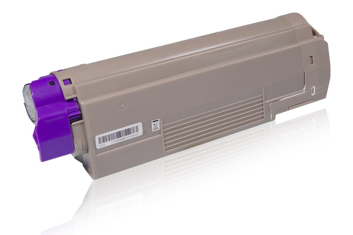 Kompatibel zu OKI 43865708 / C5650 / C5750 Tonerkartusche, schwarz