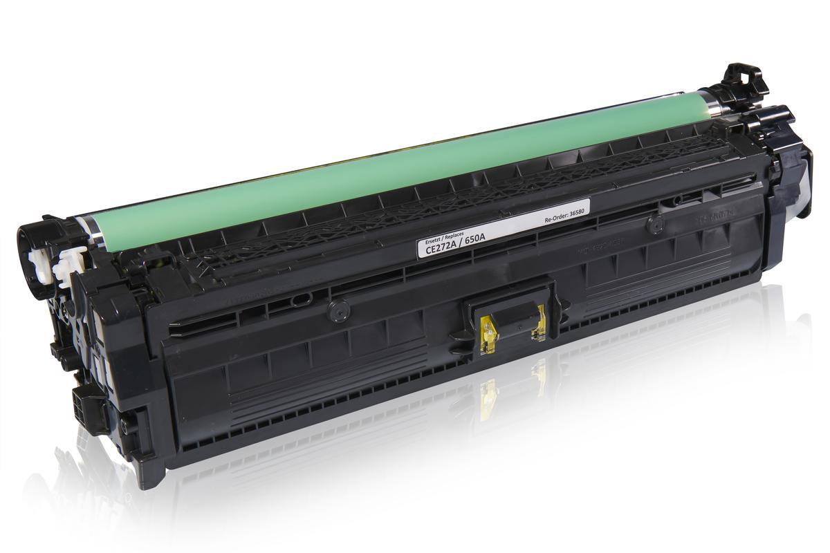 Kompatibel zu HP CE272A / 650A Tonerkartusche, gelb