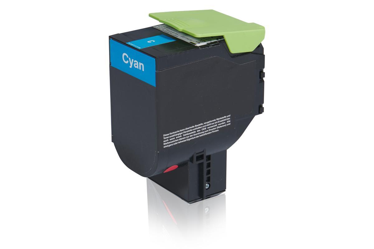 Kompatibel zu Lexmark 70C20C0 / 702C Tonerkartusche, cyan