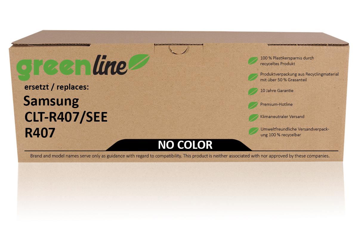 greenline ersetzt Samsung CLT-R 407/SEE / R407 Trommel, farblos