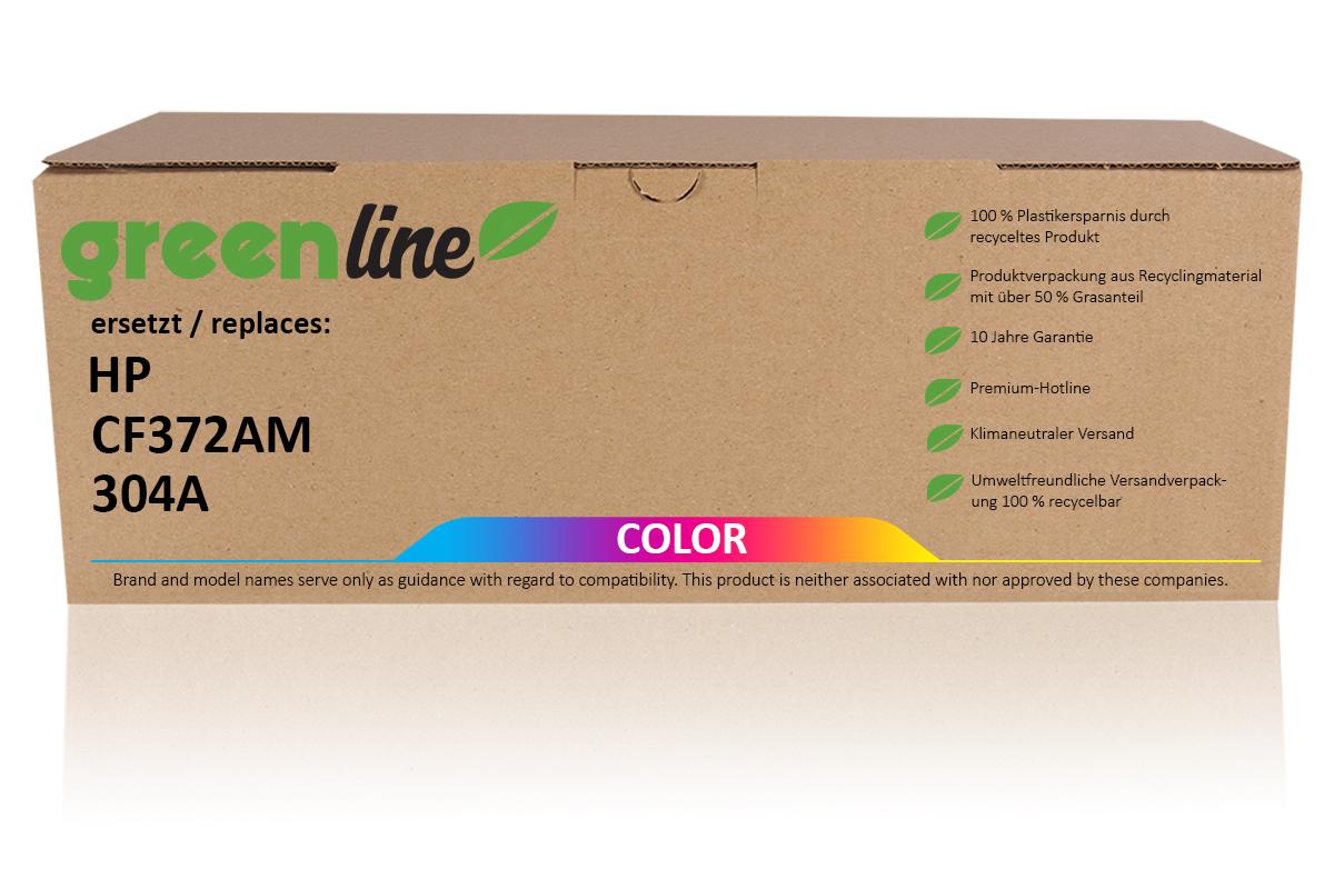 greenline ersetzt HP CF 372 AM / 304A Tonerkartusche, multipack