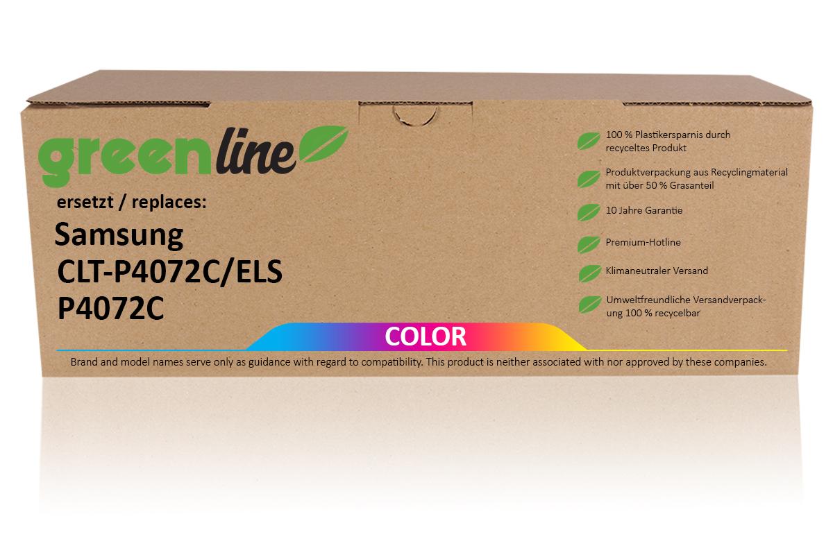 greenline ersetzt Samsung CLT-P 4072 C/ELS / P4072C Tonerkartusche, multipack