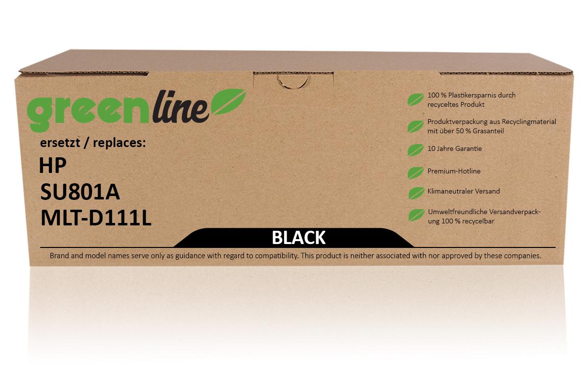 greenline ersetzt HP SU 801 A / MLT-D111L XL Tonerkartusche, schwarz