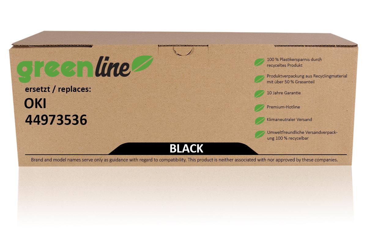 greenline ersetzt OKI 44973536 / C301 Tonerkartusche, schwarz