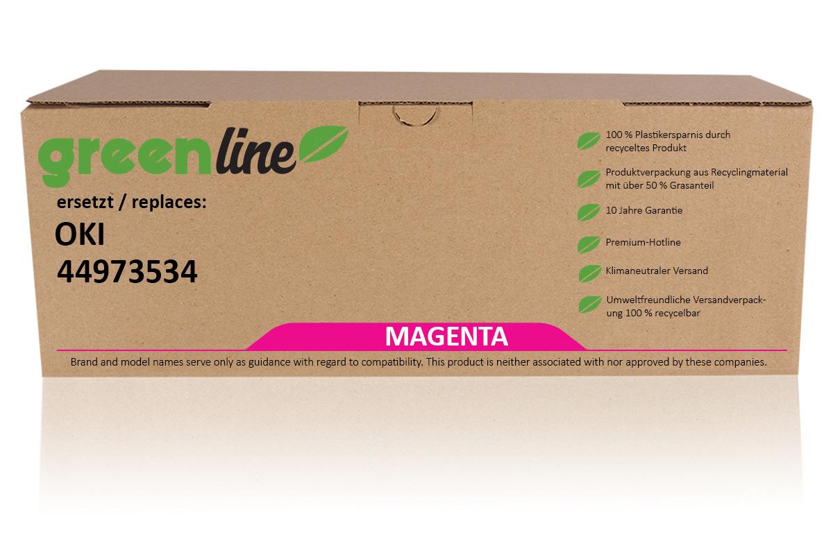 greenline ersetzt OKI 44973534 / C301 Tonerkartusche, magenta
