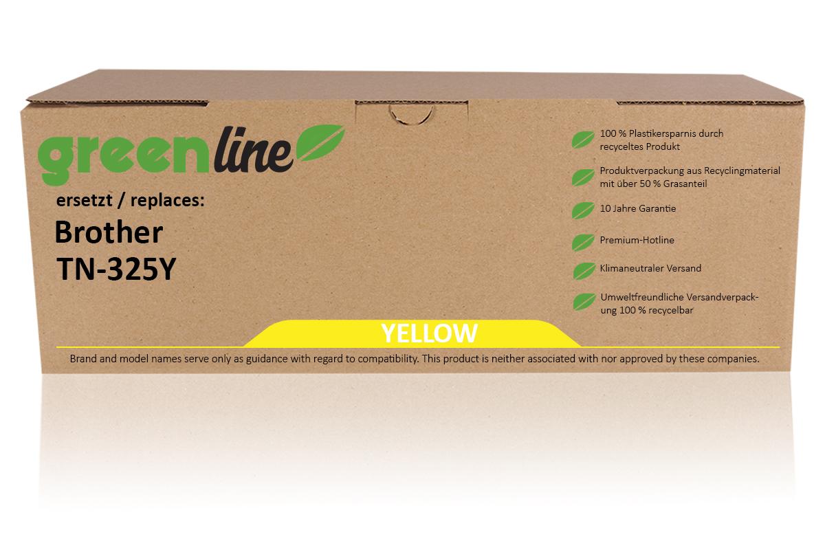 greenline ersetzt Brother TN-325 Y XL Tonerkartusche, gelb
