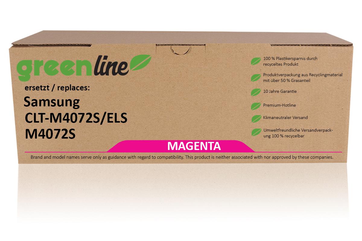 greenline ersetzt Samsung CLT-M 4072 S/ELS / M4072S Tonerkartusche, magenta